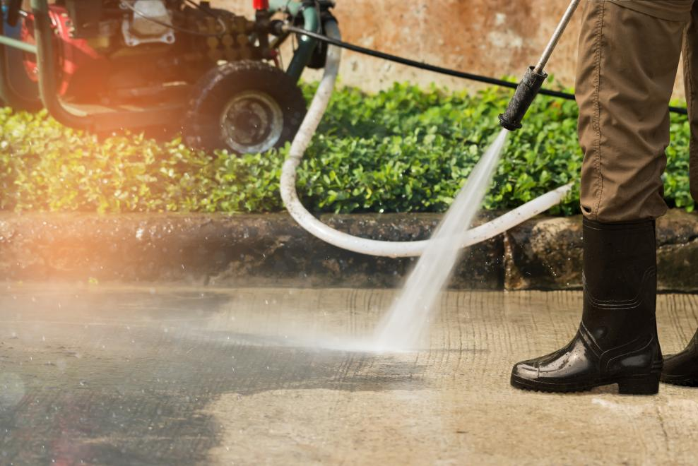 Is Power Washing bad for a Property